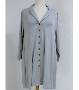 Gilet Tunique gris 8611