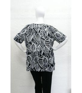 Chemise imp noir et blanc 2470