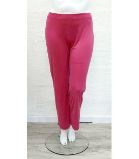Pantalon fluide fuchsia 702