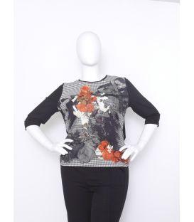 T Shirt fleuri 308406