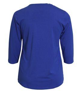 T-Shirt marine ou blanc